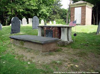 William Emerson, Sr.'s tomb.