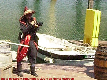 Chinese pirate with a zoom lens.
