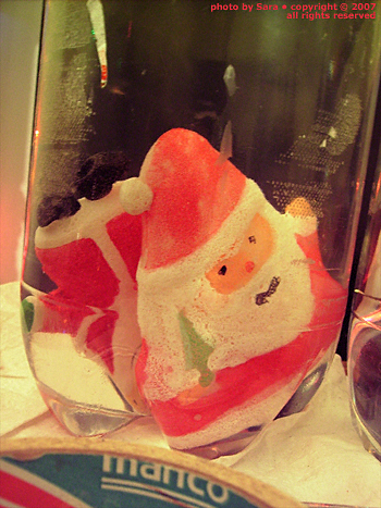 Santas again.