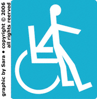 Not really disabled graphic.