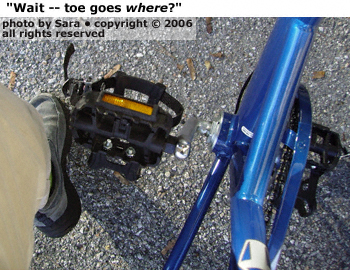 Wait -- toe goes where?